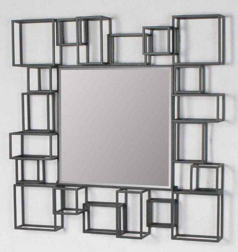 18 Best Mirrors Images On Pinterest | Bathroom Ideas, Mirror Regarding White Metal Mirrors (#3 of 20)