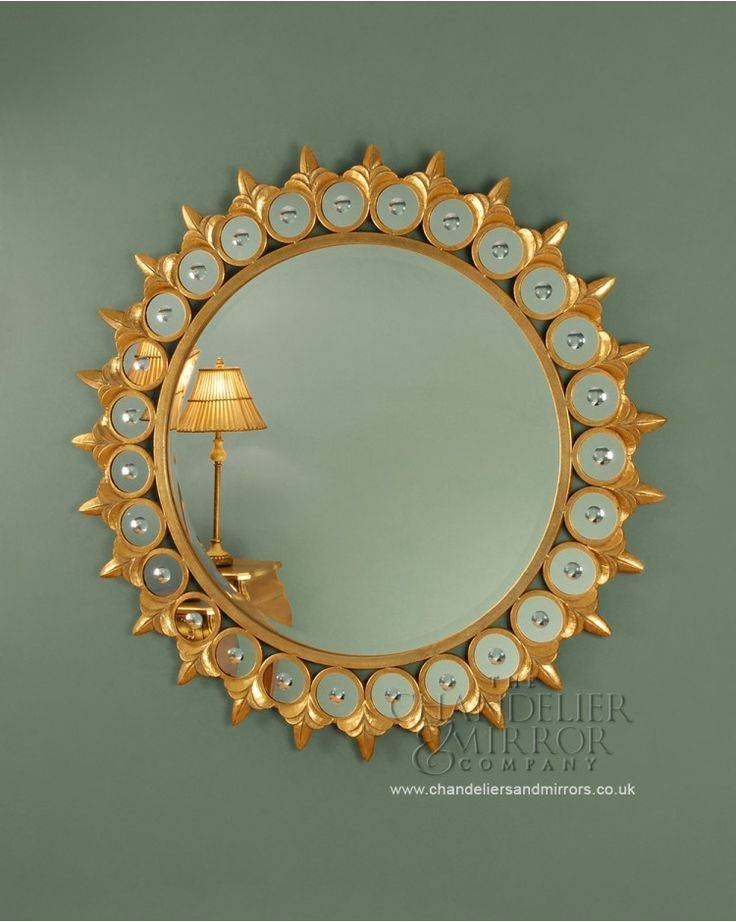18 Best Stuff For The House Images On Pinterest | Round Mirrors For Unusual Round Mirrors (View 1 of 20)