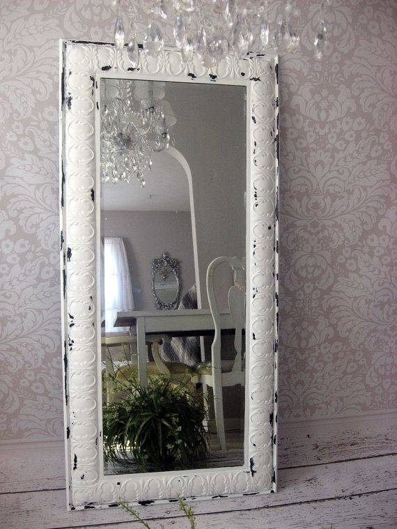 18 Best Vanity Mirrors Images On Pinterest | Vanity Mirrors Intended For Shabby Chic Full Length Mirrors (#2 of 20)