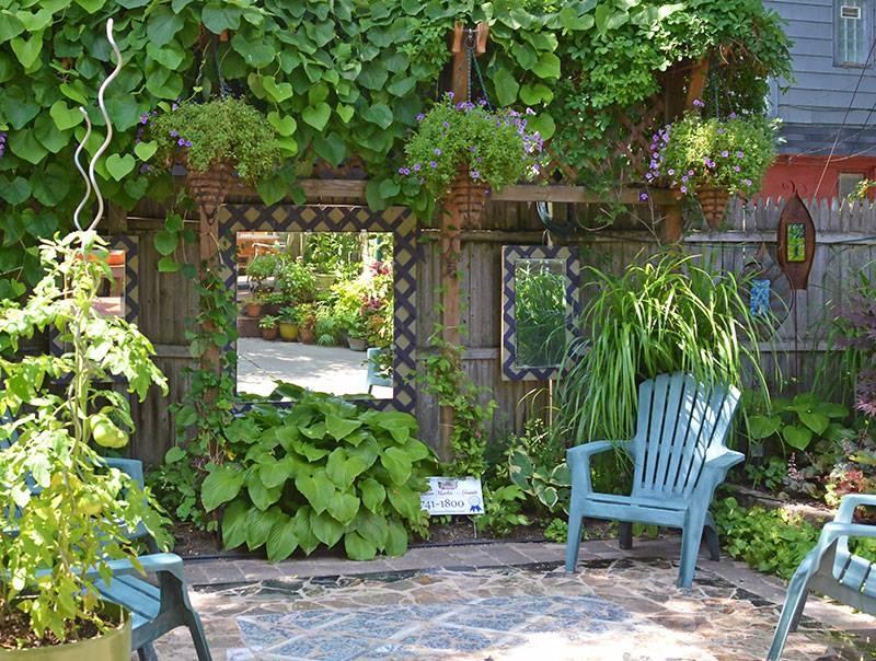 18 Dazzling Mirror Ideas For Your Garden – Garden Lovers Club With Garden Mirrors (View 7 of 30)