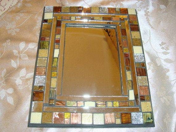 1825 Best Mosaic Mirrors Images On Pinterest | Mosaic Art, Mosaic Intended For Bronze Mosaic Mirrors (#4 of 30)
