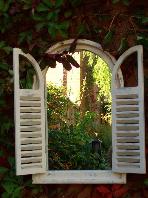 184 Best Outdoor Mirrors Images On Pinterest | Garden Mirrors Regarding Outside Garden Mirrors (#2 of 15)