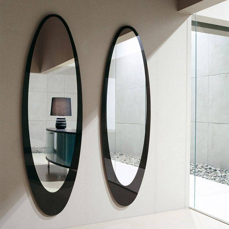 19 Best Mirror Images On Pinterest | Mirror Mirror, Mirror And Mirrors Within Long Oval Mirrors (#5 of 30)