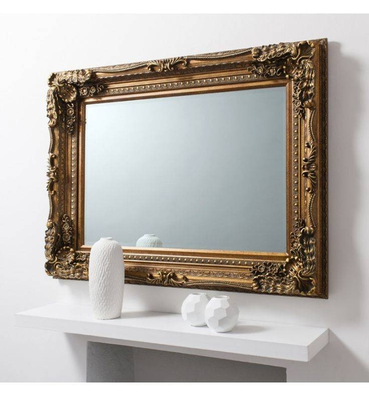 19 Best Mirrors Images On Pinterest | Leaner Mirror, Mirror Mirror Regarding Gold Mirrors (#3 of 30)