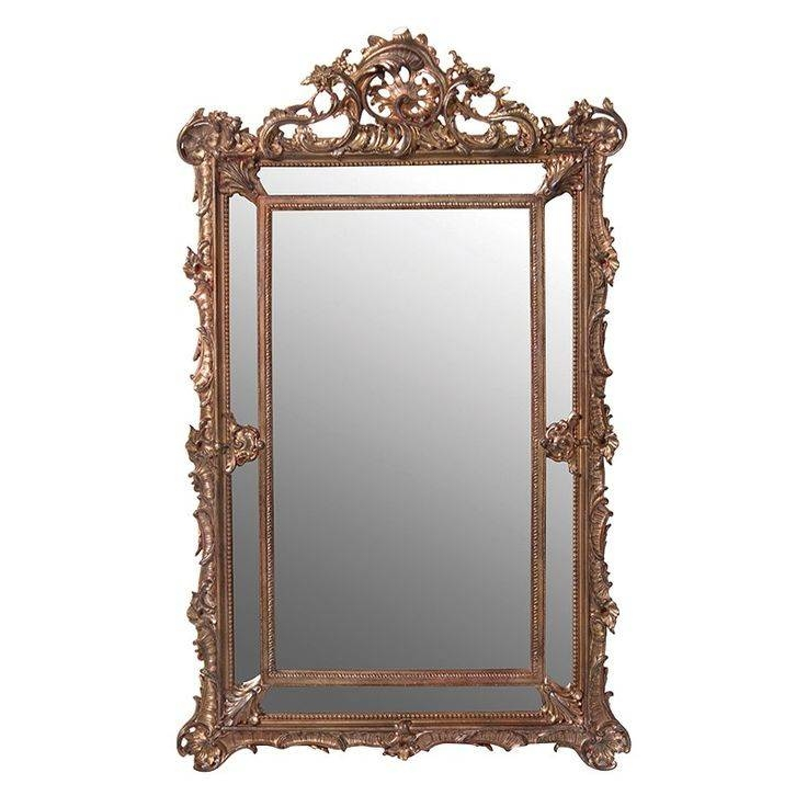 19 Best Mirrors Images On Pinterest | Leaner Mirror, Mirror Mirror With Regard To Gold Mirrors (#4 of 30)