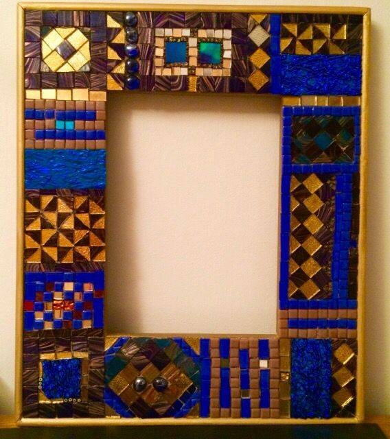 19 Best My Mosaic Frames And Mirrors Images On Pinterest | Mosaic Pertaining To Mirrors With Blue Frame (View 15 of 20)