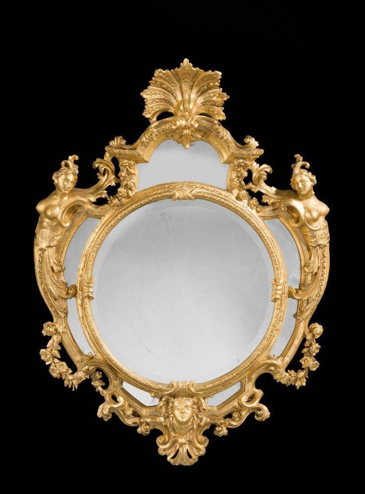 Inspiration about 190 Best Mirrors Images On Pinterest | Mirror Mirror, Antique Pertaining To Roccoco Mirrors (#12 of 15)