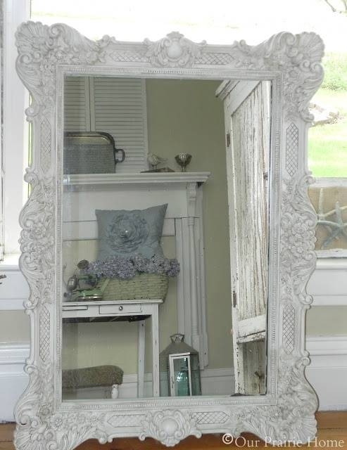 193 Best Diy~Mirrors Images On Pinterest | Mirrors, Diy Mirror And Inside Shabby Chic Gold Mirrors (#4 of 30)