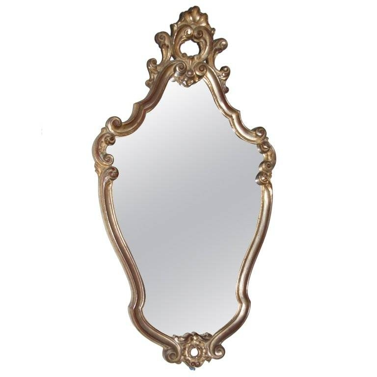 1950S French Rococo Mirror At 1Stdibs In French Rococo Mirrors (#2 of 15)