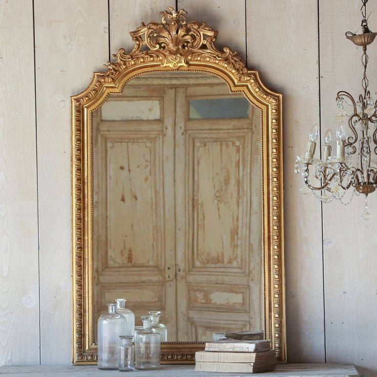 196 Best Mirrors Images On Pinterest Intended For French Gold Mirrors (#3 of 20)