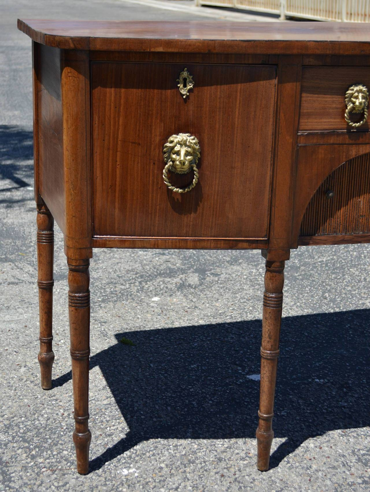 19Th Century Regency English Mahogany Sideboard For Sale At 1Stdibs Pertaining To Sideboard Sale (#3 of 20)