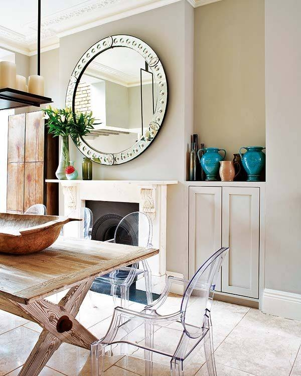 20 Best Mirrors Images On Pinterest | Round Mirrors, Mirror Mirror Inside Large Mantel Mirrors (#2 of 30)