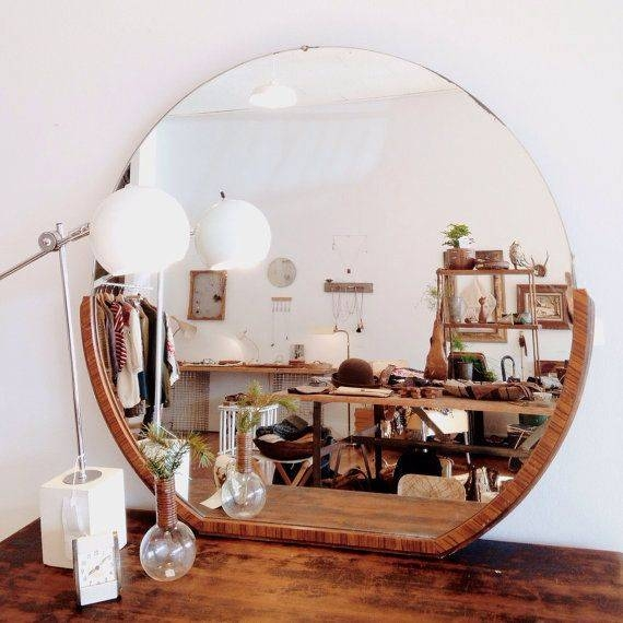 20 Best Mirrors Images On Pinterest | Round Mirrors, Mirror Mirror Pertaining To Antique Round Mirrors For Walls (#2 of 20)
