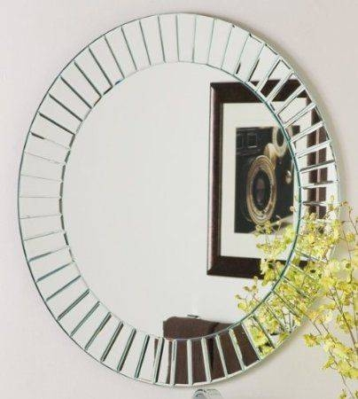 20 Best Mirrors Images On Pinterest | Round Mirrors, Mirror Mirror Regarding Round Bevelled Mirrors (#1 of 20)