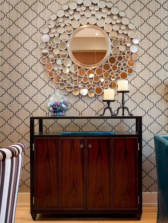 20 Best Ren Wil Mirrors Images On Pinterest | Mirror Mirror With Funky Round Mirrors (View 7 of 30)