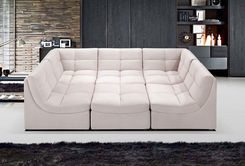 20 Jigsaw Sectional Sofa That Will Bring Comfort And Style In Your Intended For Leather Modular Sectional Sofas (#1 of 15)