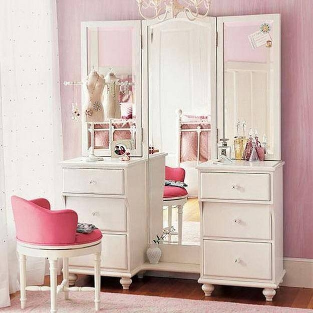 20 Modern Ideas And Tips For Interior Decorating With Dressing Tables Within Dressing Table With Long Mirrors (View 1 of 15)