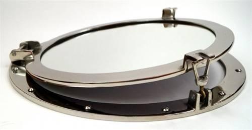 """Inspiration about 20"""" Porthole Mirror ~ Chrome Finish Throughout Chrome Porthole Mirrors (#20 of 20)"""