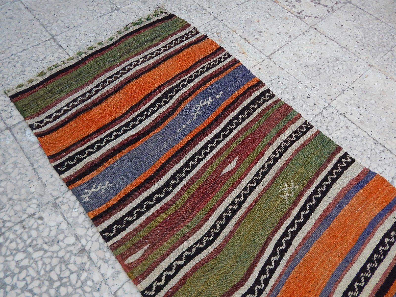 20 Vintage Extra Long Handmade Wool Turkish Hallway Corridor For Extra Long Runners For Hallway (#3 of 20)