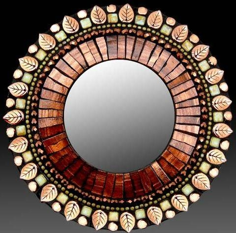 200 Best Espejos Images On Pinterest | Mosaic Art, Mirror And Inside Bronze Mosaic Mirrors (#5 of 30)