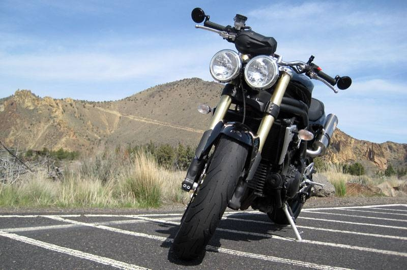 2006 Triumph Speed Triple – Oregon Ride Guide In Triple Mirrors (#3 of 30)