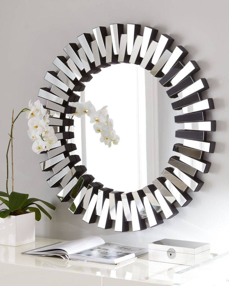 Popular Photo of Funky Round Mirrors