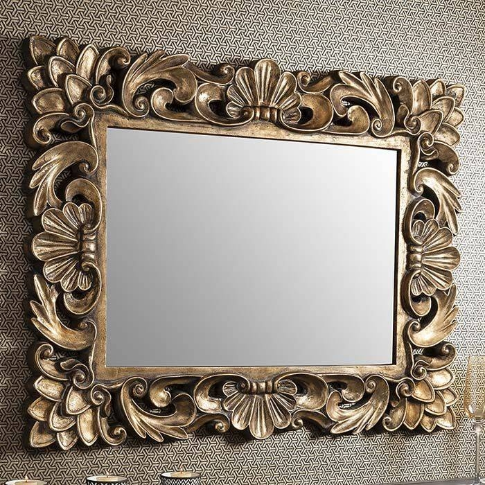 21 Best Gold Mirrors Images On Pinterest | Gold Mirrors, Mirror For Gold Rococo Mirrors (View 12 of 20)
