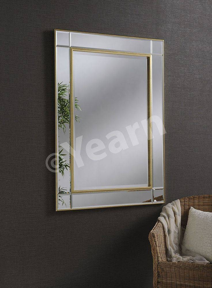 21 Best Gold Mirrors Images On Pinterest   Gold Mirrors, Mirror Inside Modern Gold Mirrors (View 12 of 20)