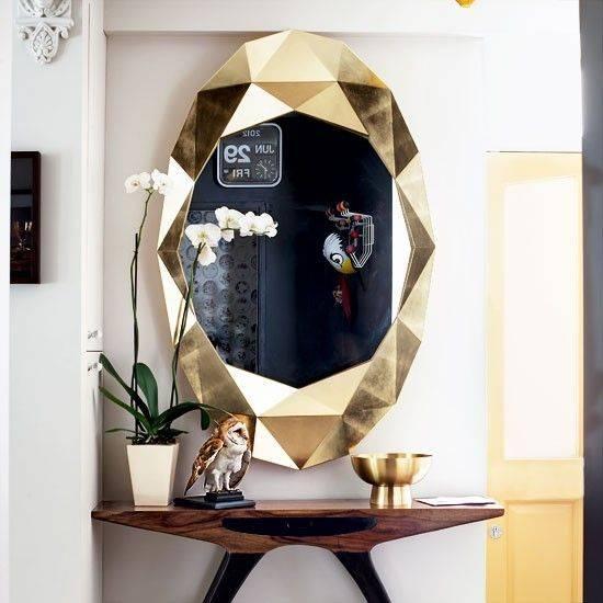 21 Best Modern Mirrors Images On Pinterest   Modern Mirrors For Modern Gold Mirrors (View 19 of 20)