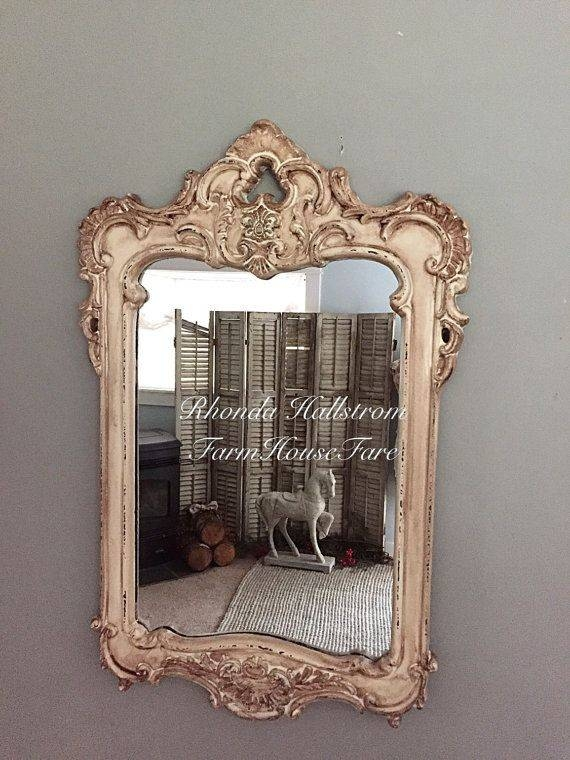 210 Best Mirror Images On Pinterest | Mirror Mirror, Antique Intended For French Chic Mirrors (View 8 of 30)