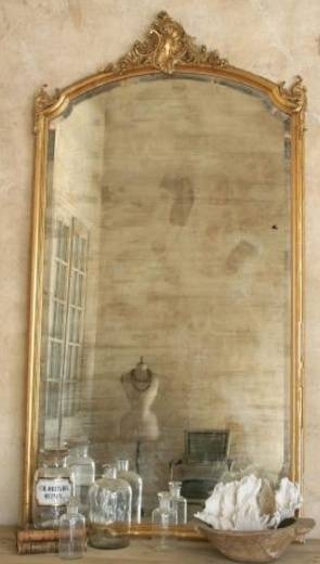 217 Best Antique Frames Images On Pinterest | Antique Frames With French Vintage Mirrors (#1 of 20)