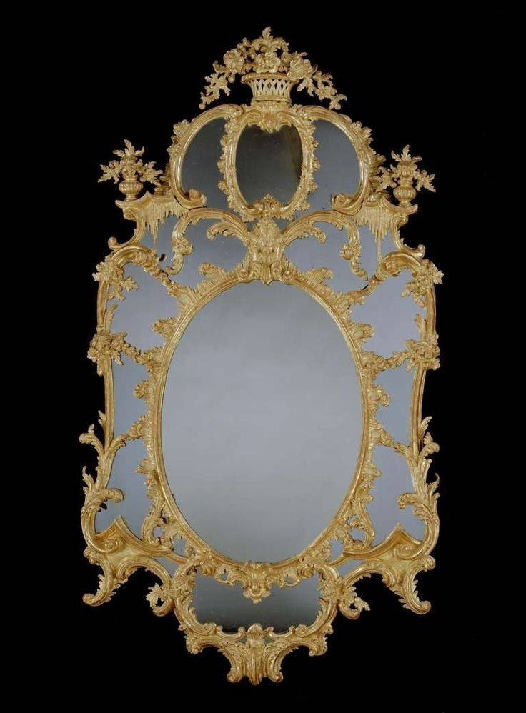 219 Best Mirrors Images On Pinterest | Mirror Mirror, Antique Pertaining To Elaborate Mirrors (#8 of 30)