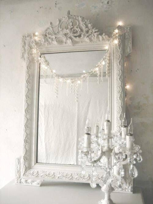 2199 Best Shabby Chic Home Decor Images On Pinterest | Home With Regard To Shabby Chic White Mirrors (#5 of 30)