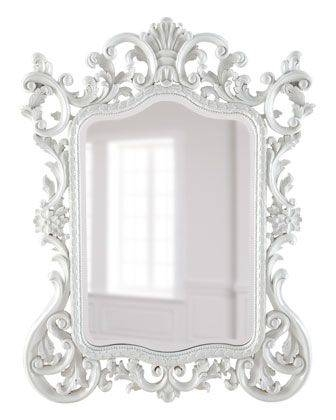 222 Best Wall Mirror Images On Pinterest | Mirror Mirror, Home And Intended For Baroque White Mirrors (#2 of 20)