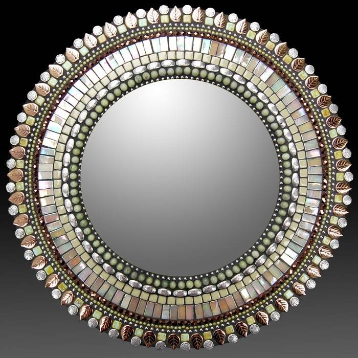 224 Best Mosaic Mirrors Images On Pinterest | Stained Glass Regarding Bronze Mosaic Mirrors (#6 of 30)
