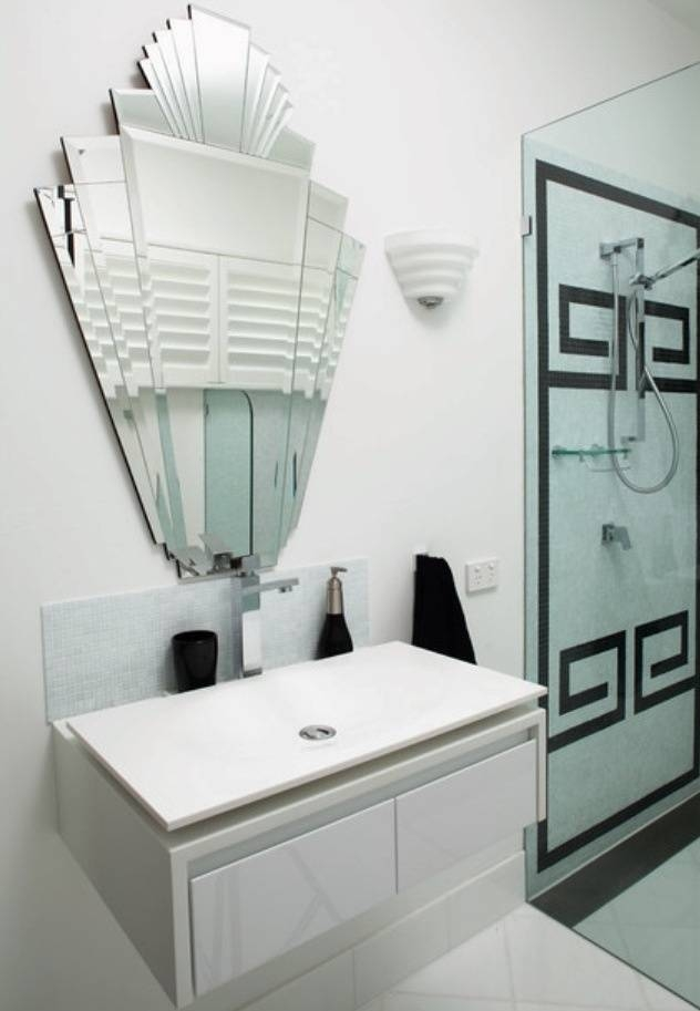 23 Best Art Deco Mirrors Images On Pinterest | Art Deco Mirror Inside Deco Bathroom Mirrors (#4 of 20)