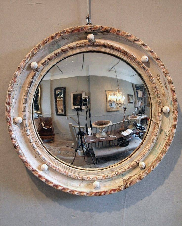 23 Best Round Convex Mirrors Images On Pinterest | Convex Mirror In Convex Decorative Mirrors (View 26 of 30)