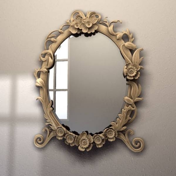 23 Best Tattoo Frame Images On Pinterest | Tattoo Frame, Vintage In Vintage Mirrors (View 6 of 20)