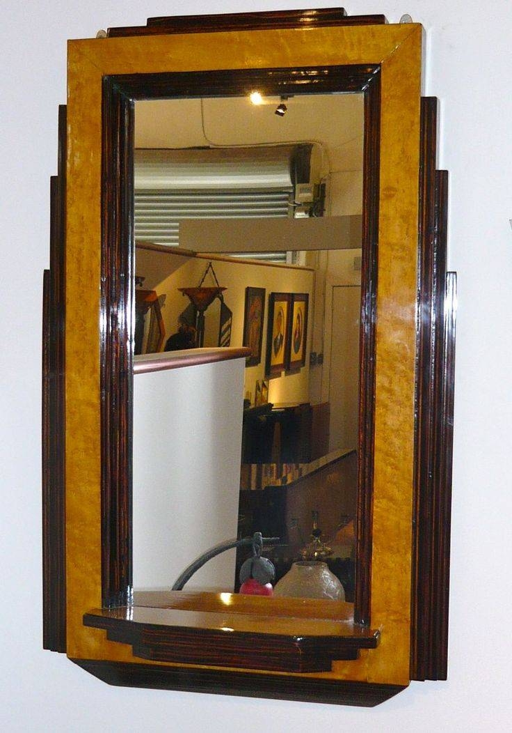 231 Best Art Deco Mirrors Images On Pinterest | Art Deco Mirror Intended For Original Art Deco Mirrors (#3 of 20)