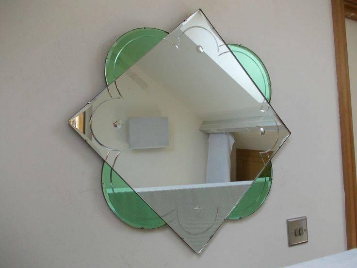 231 Best Art Deco Mirrors Images On Pinterest | Art Deco Mirror Regarding Original Art Deco Mirrors (#4 of 20)