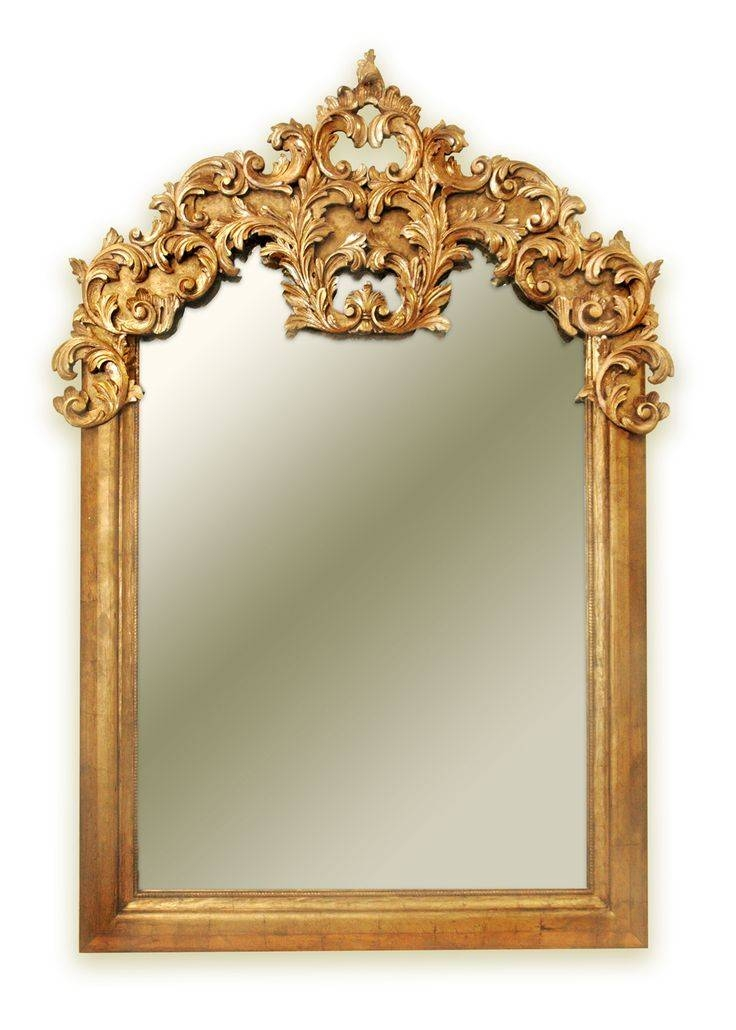 234 Best Mirrors Images On Pinterest | Mirror Mirror, Wall Mirrors Intended For Baroque Gold Mirrors (#5 of 20)