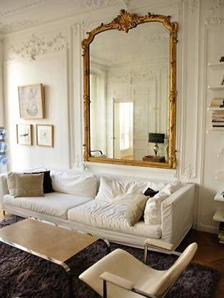 235 Best Reflections In The Mirror Images On Pinterest | Mirror Intended For French Vintage Mirrors (#2 of 20)