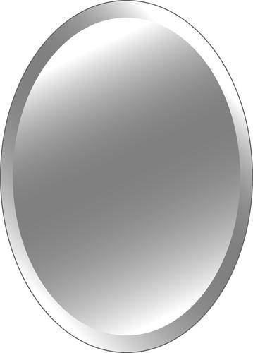 """24"""" X 37"""" Oval Beveled Mirror At Menards® Within Oval Bevelled Mirrors (#2 of 30)"""