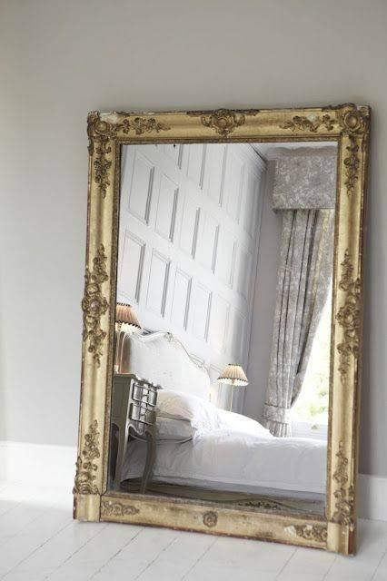 241 Best Mirror Wonderland Images On Pinterest | Mirror Mirror Regarding Antique Large Mirrors (#3 of 20)