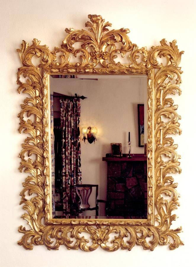 Popular Photo of Gold Baroque Mirrors