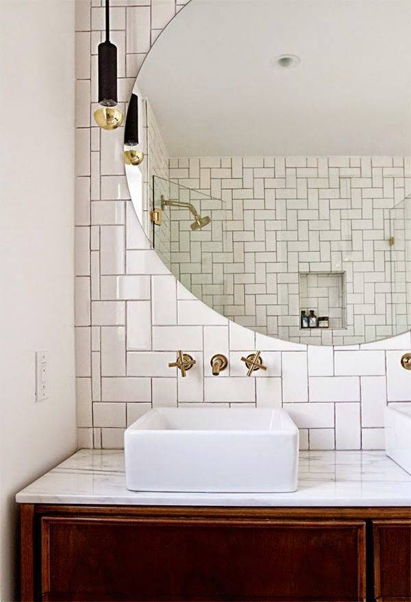 25+ Best Bathroom Mirror Lights Ideas On Pinterest | Illuminated Regarding Deco Bathroom Mirrors (#5 of 20)