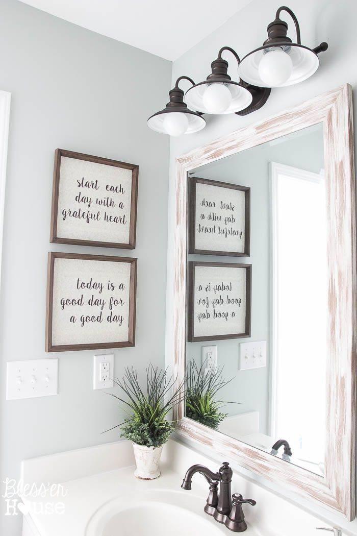 25+ Best Bathroom Mirrors Ideas On Pinterest | Framed Bathroom For Funky Mirrors For Bathrooms (#3 of 20)