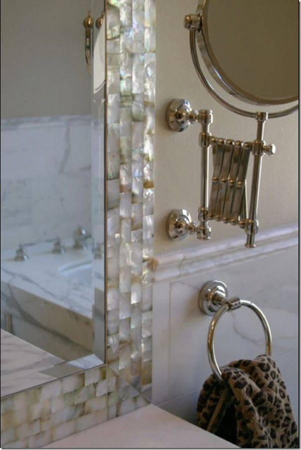 25+ Best Bling Bathroom Ideas On Pinterest | Mosaic Bathroom Pertaining To Glitter Wall Mirrors (#1 of 30)