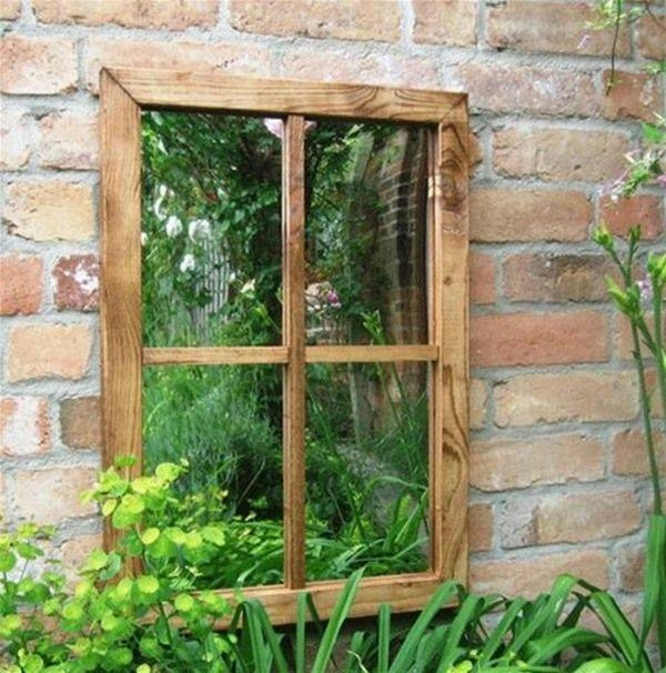 25+ Best Garden Mirrors Ideas On Pinterest | Outdoor Mirror, Small For Garden Window Mirrors (#5 of 20)
