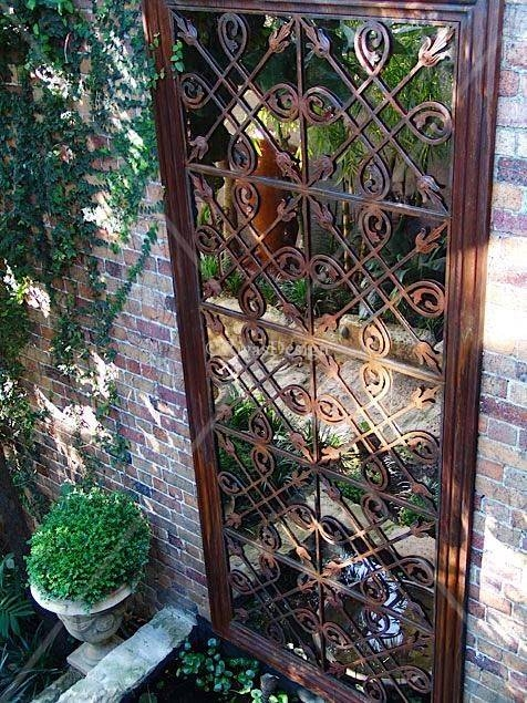 25+ Best Garden Mirrors Ideas On Pinterest | Outdoor Mirror, Small Intended  For Garden